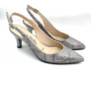 Zapato salón destalonado PLOMO Patricia Miller 3647