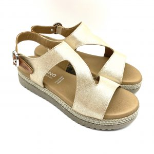 Sandalia piel PLATINO D8234 Dorking