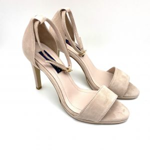 Sandalia tacón NUDE Daniela Shoes 19055 Calzados Atikka Karina Zaragoza