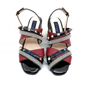 Sandalia vinilo MULTICOLOR Daniela Shoes 20123 Calzados Atikka Karina Zaragoza