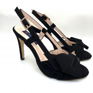 Sandalia ante NEGRO Daniela Shoes 20145 Calzados Atikka Karina Zaragoza
