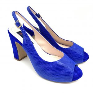Zapato plataforma AZUL Daniela Shoes 20160 Calzados Atikka Karina Zaragoza
