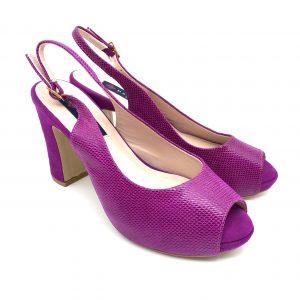 Zapato plataforma CICLAMEN Daniela Shoes 20160 Calzados Atikka Karina Zaragoza