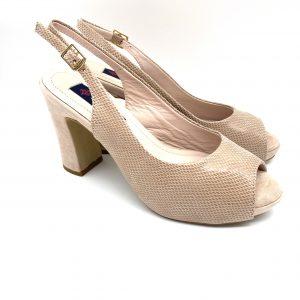 Zapato plataforma NUDE Daniela Shoes 20160 Calzados Atikka Karina Zaragoza
