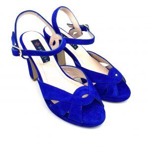 Sandalia plataforma AZUL Daniela Shoes 20191 Calzados Atikka Karina Zaragoza