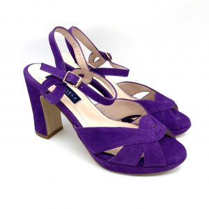 Sandalia plataforma MORADO Daniela Shoes 20191 Calzados Atikka Karina Zaragoza