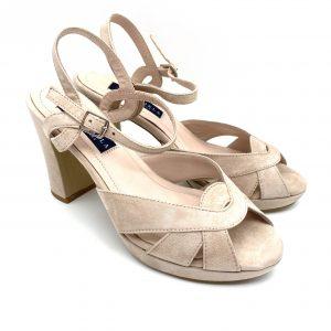 Sandalia plataforma NUDE Daniela Shoes 20191 Calzados Atikka Karina Zaragoza