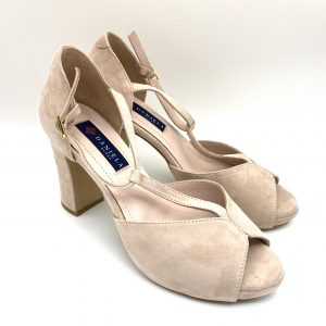Sandalia plataforma NUDE Daniela Shoes 20195 Calzados Atikka Karina Zaragoza
