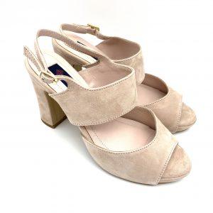 Sandalia ante NUDE Daniela Shoes 20197 Calzados Atikka Karina Zaragoza