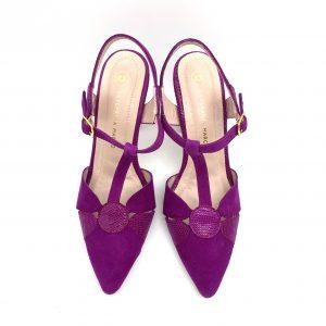 Zapato destalonado CICLAMEN Estefania Marco 5064