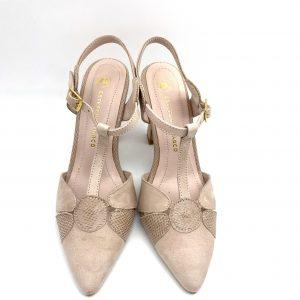 Zapato destalonado NUDE Estefania Marco 5064