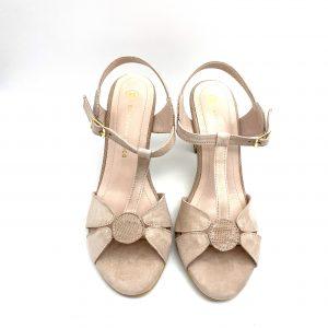 Zapato destalonado NUDE Estefania Marco 5122