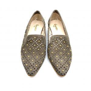 Zapato plano sliper TAUPE ROLDÁN 5109