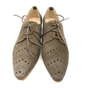 Zapato plano cordón TAUPE ROLDÁN 5113 Atikka Calzados Zaragoza
