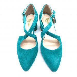 Zapato vestir TURQUESA ROLDÁN 5122