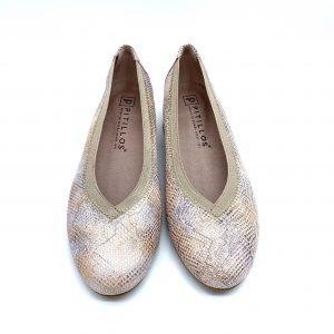 Zapato piel NUDE PITILLOS 6072