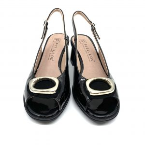 Zapato charol NEGRO PITILLOS 6171 Atikka Calzados Zaragoza